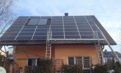 PV-Anlage mit Dachfenster 2019