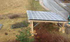PV-Anlage auf Carport